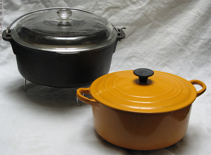Difference Between a Stockpot and a Dutch Oven