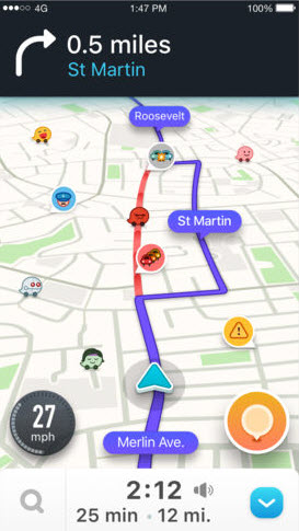 Difference Between Google Maps and Waze