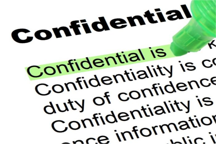 Difference Between Anonymity and Confidentiality