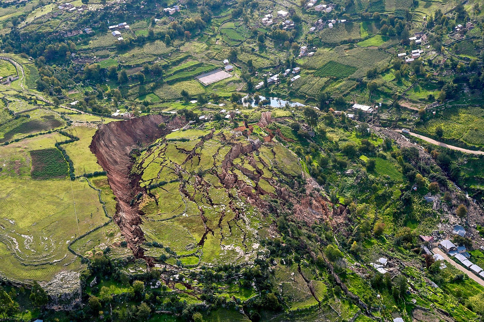 Difference Between Landslide and Mudslide