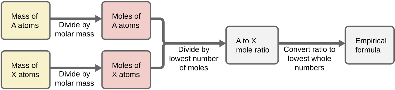 Difference between Atom and Mole