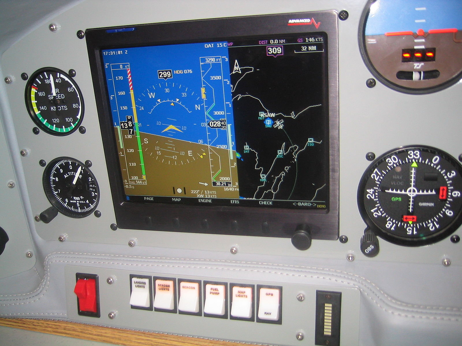 Difference Between Aircraft Navigation GPS and VOR