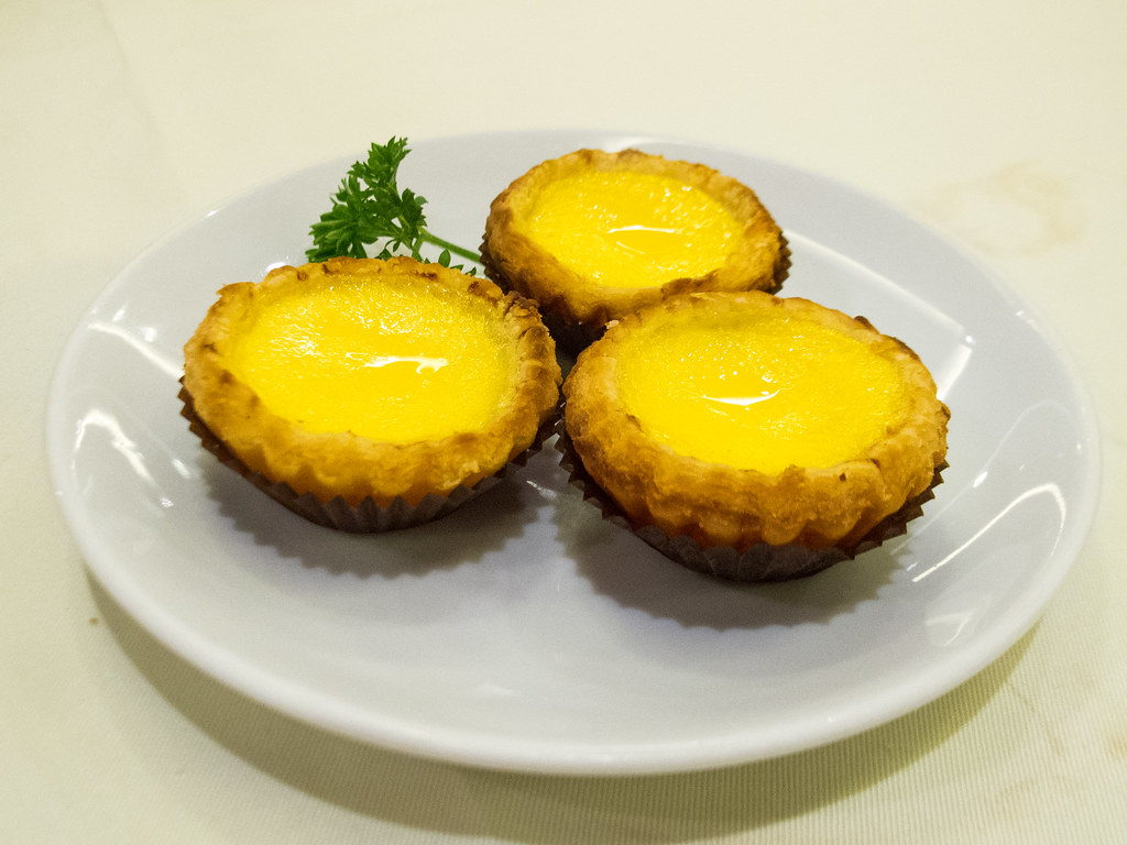 ????? Chicken Egg Tart with Puff Pastry, ????
