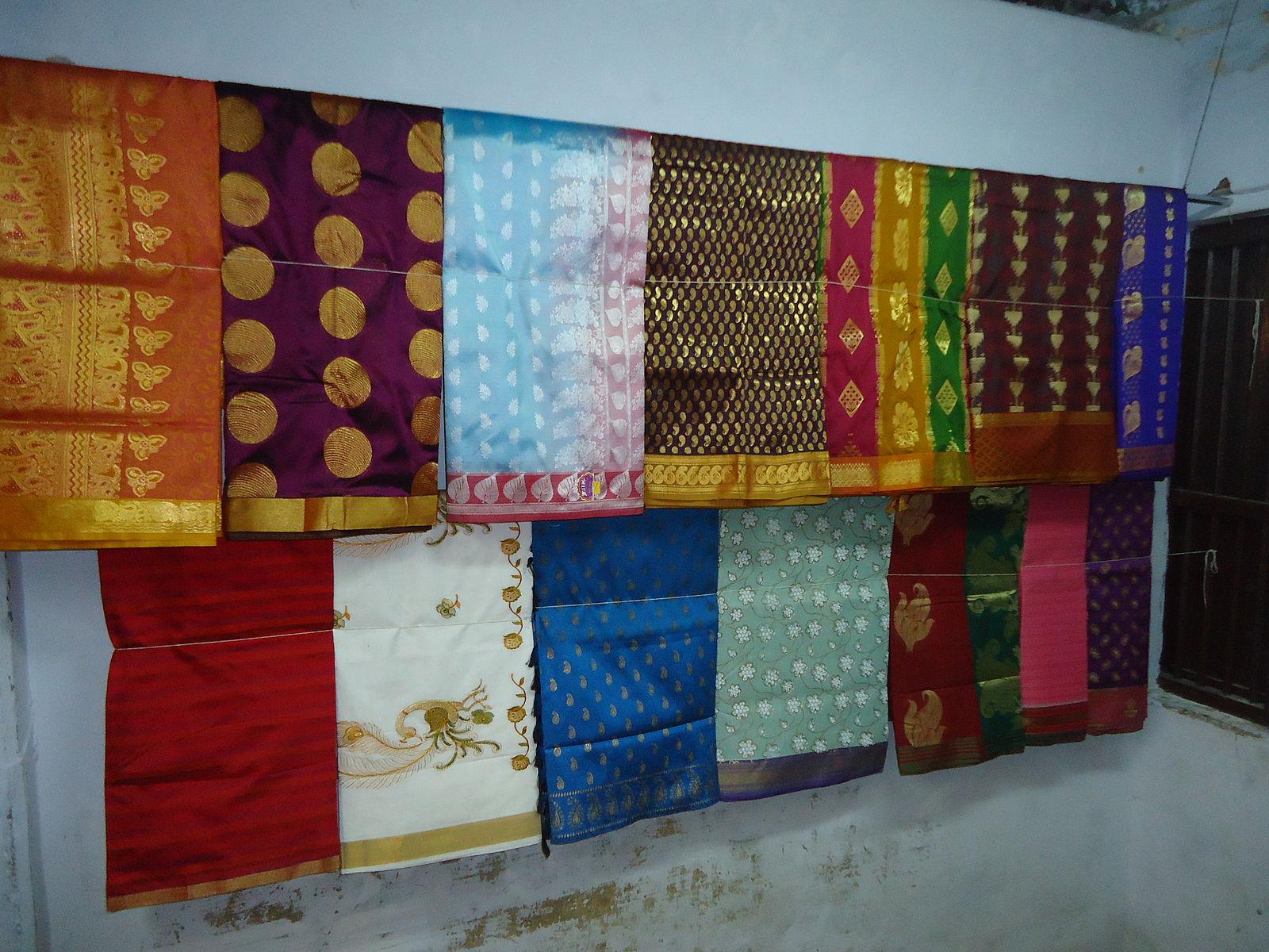 Difference Between Uppada Silk and Kanchipuram Silk