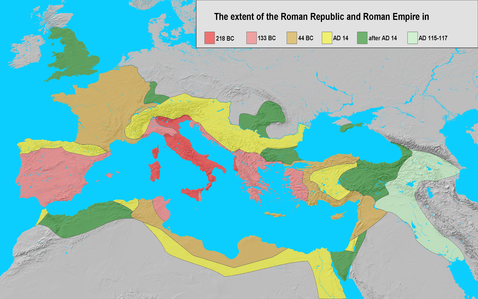 Difference Between the Roman Republic and the Roman Empire