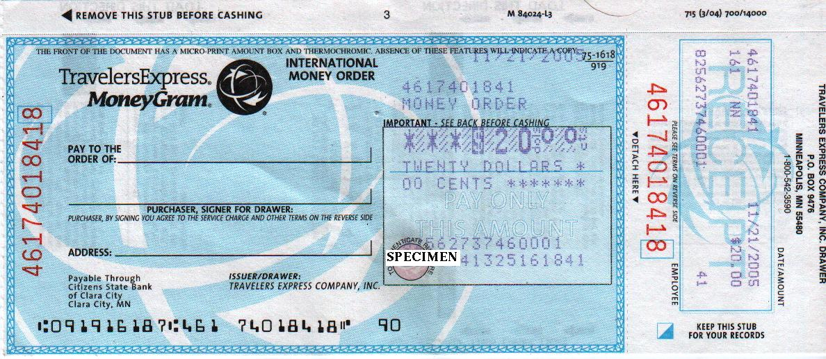 Difference Between Bank Draft and Money Order