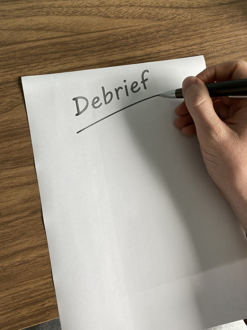 Difference Between Briefing and Debriefing