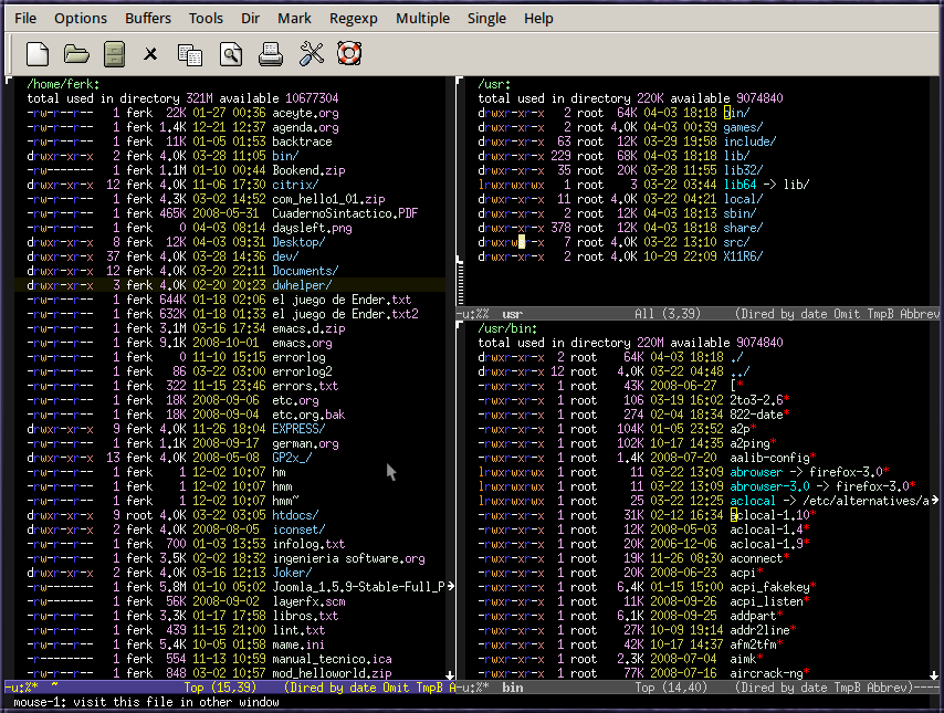 Difference Between Vim and Emacs