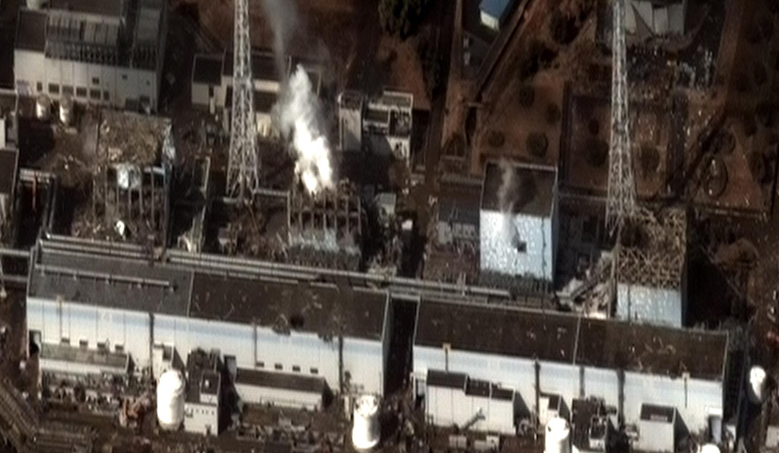 Earthquake and Tsunami damage-Dai Ichi Power Plant, Japan