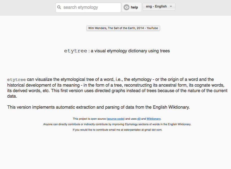 Difference Between Etymology and Entomology