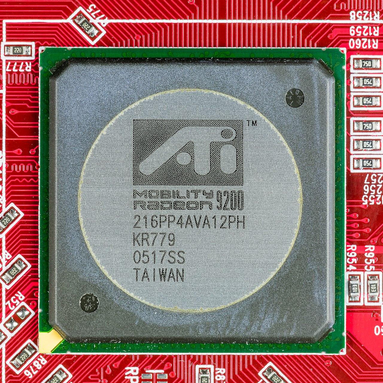 ATI Radeon R9250 128MB 64Bit - ATI Mobility Radeon 9200 216PP4AVA12PH