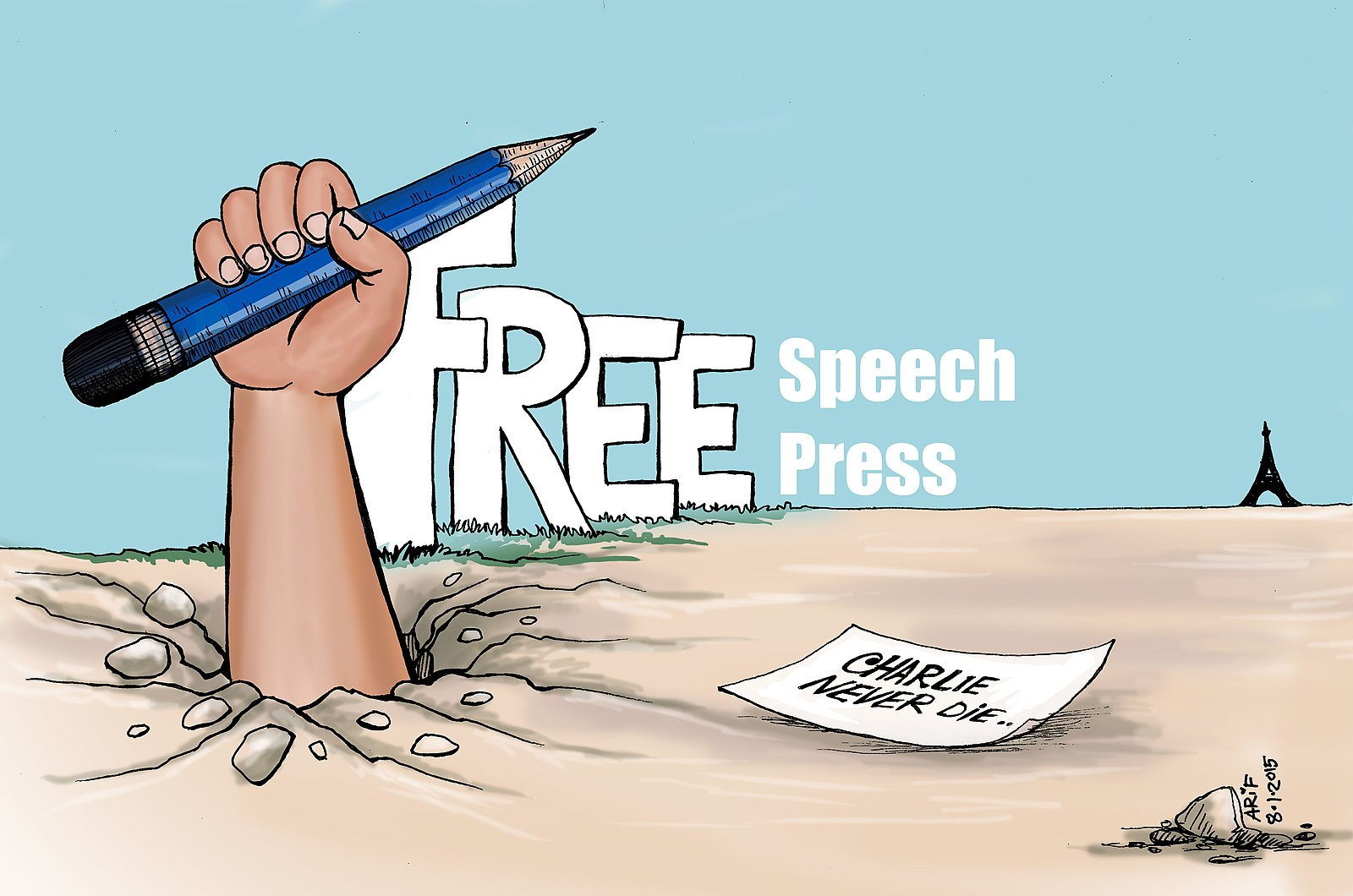 Difference Between Free Speech and Call to Action