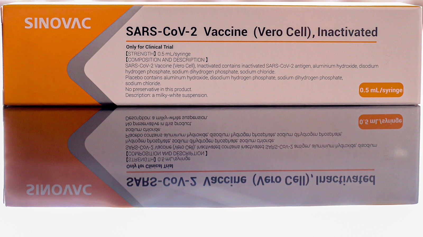 Difference Between Sinovac Vaccine and Pfizer'
