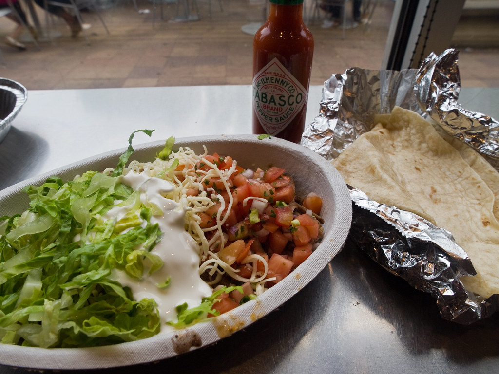 Difference Between Chipotle Burrito and Bowl
