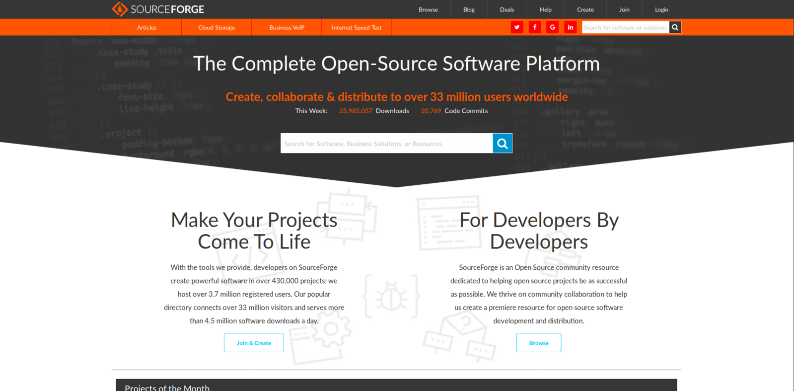 Difference Between GitHub and SourceForge