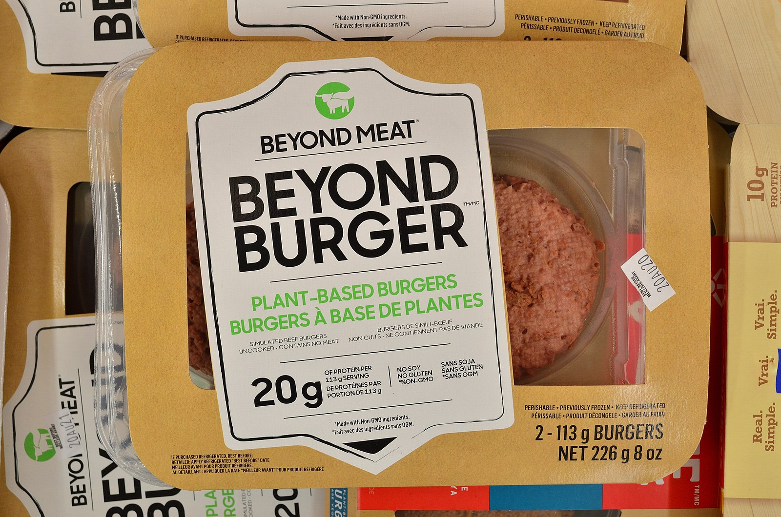 Difference Between Beyond Meat and Real Meat